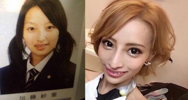 【画像あり】加藤紗里の現在と過去が違いがヤバい!!どれくらい整形したらこうなるのだろうか!?