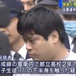 痴漢で逮捕された磯川剛史の顔画像は?犯行を否定しているが痴漢は意図的だった可能性も・・・。