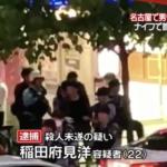 稲田府見洋 顔画像とFacebookは?犯行動機がヤバい!面識ない男性刺し殺人未遂の疑いで逮捕!