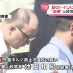 池田和紀 顔画像とFacebookは?犯行内容がやばい!6年間で2400人を盗撮!