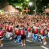 盛岡さんさ踊り2018の日程・出演順は?見どころの『世界一の太鼓パレード』は圧巻の一言に!