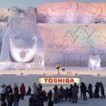 旭川冬まつり2019の日程やゲストは?駐車場やシャトルバス、花火についても!