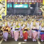 南越谷阿波踊り2019の交通規制は?屋台や前夜祭、駐車場についても!